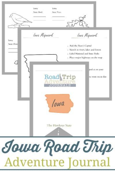 Iowa Road Trip Adventure Journal