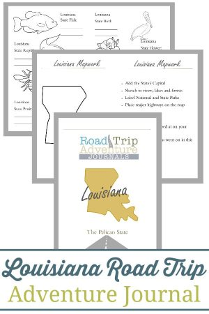 Louisiana Road Trip Adventure Journal