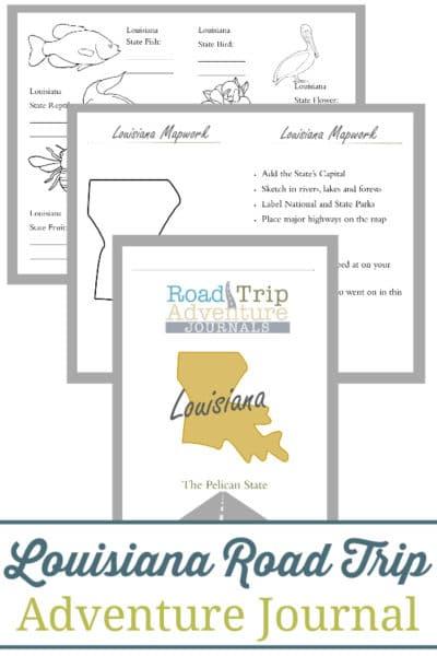 Louisiana Road Trip Adventure Journal