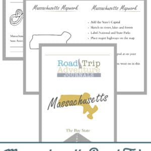 massachusetts road trip, massachusetts road trip journal, massachusetts road trip adventure journal