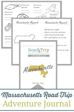 Massachusetts Road Trip Adventure Journal