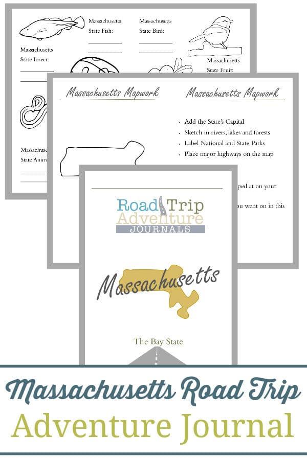 massachusetts road trip, massachusetts road trip journal, massachusetts road trip adventure journal
