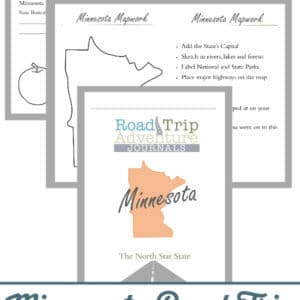 minnesota road trip, minnesota road trip journal, minnesota road trip adventure journal
