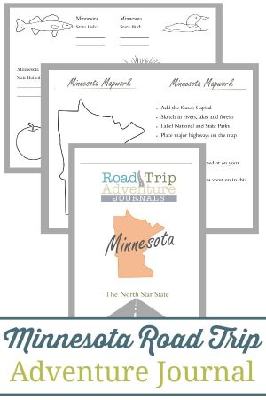 Minnesota Road Trip Adventure Journal
