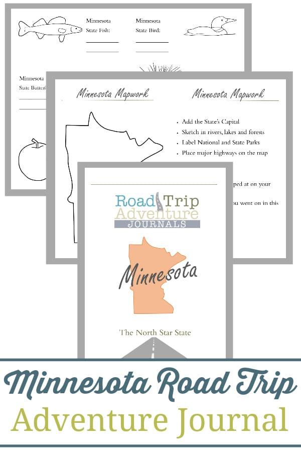 minnesota road trip, minnesota road trip journal, minnesota road trip adventure journal