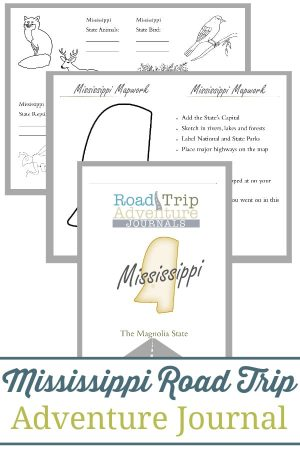 Mississippi Road Trip Adventure Journal