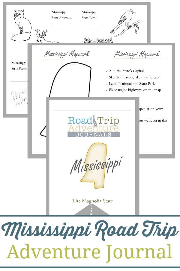 mississippi road trip, mississippi road trip journal, mississippi road trip adventure journal