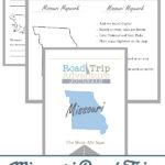 Missouri Road Trip Adventure Journal