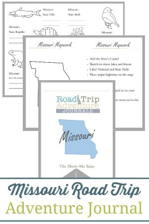 Missouri Road Trip Adventure Journal