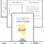 Nevada Road Trip Adventure Journal
