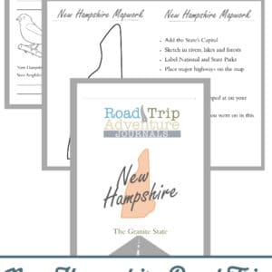 new hampshire road trip, new hampshire road trip journal, new hampshire road trip adventure journal