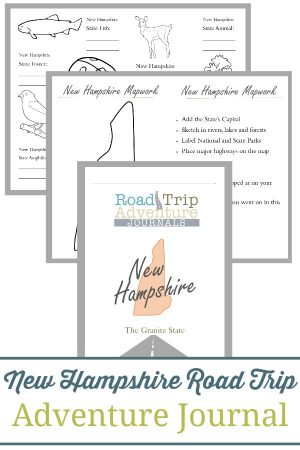 New Hampshire Road Trip Adventure Journal