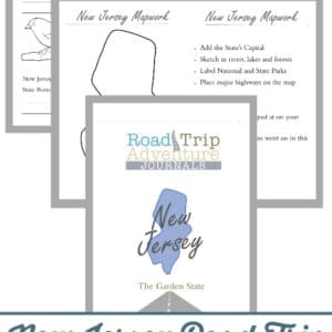 new jersey road trip, new jersey road trip journal, new jersey road trip adventure journal