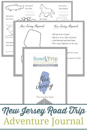 New Jersey Road Trip Adventure Journal