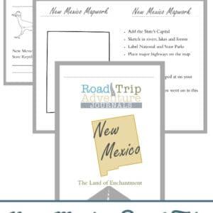 new mexico road trip, new mexico road trip journal, new mexico road trip adventure journal
