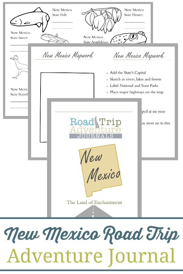 new mexico road trip, new mexico road trip journal, new mexico road trip adventure journal