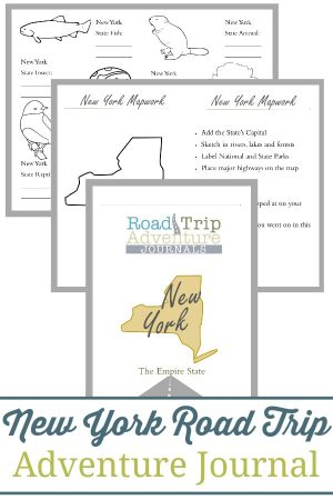 New York Road Trip Adventure Journal