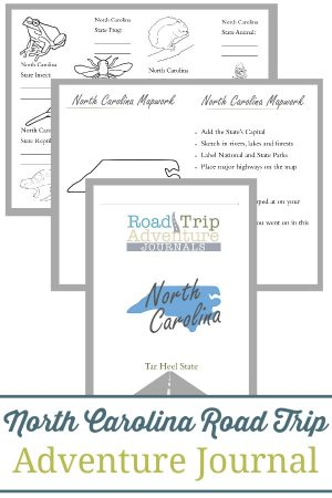 North Carolina Road Trip Adventure Journal