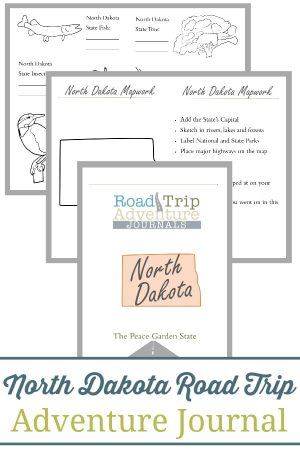 North Dakota Road Trip Adventure Journal