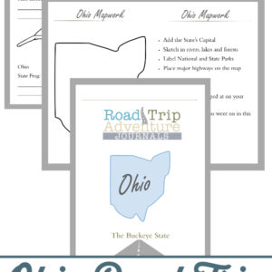 ohio road trip, ohio road trip journal, ohio road trip adventure journal