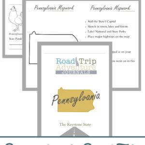 pennsylvania road trip, pennsylvania road trip journal, pennsylvania road trip adventure journal