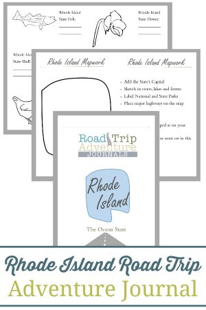 Rhode Island Road Trip Adventure Journal