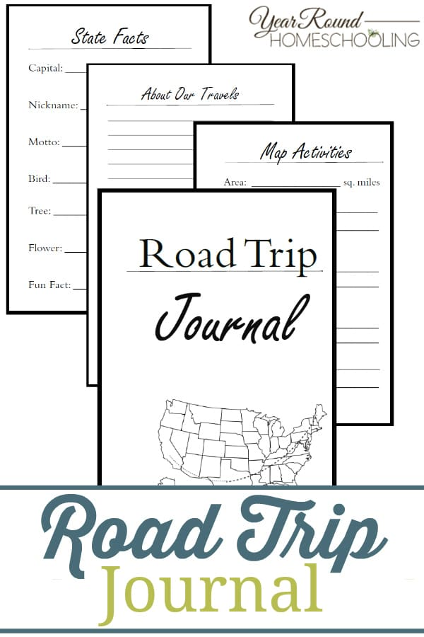 road trip, road trip journal
