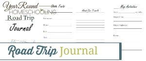 road trip, road trip journal
