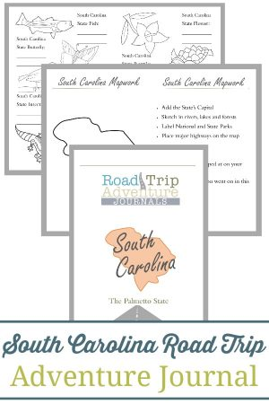 South Carolina Road Trip Adventure Journal