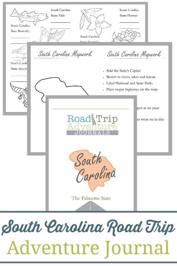 south carolina road trip, south carolina road trip journal, south carolina road trip adventure journal