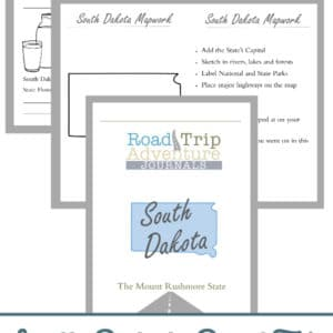 south dakota road trip, south dakota road trip journal, south dakota road trip adventure journal