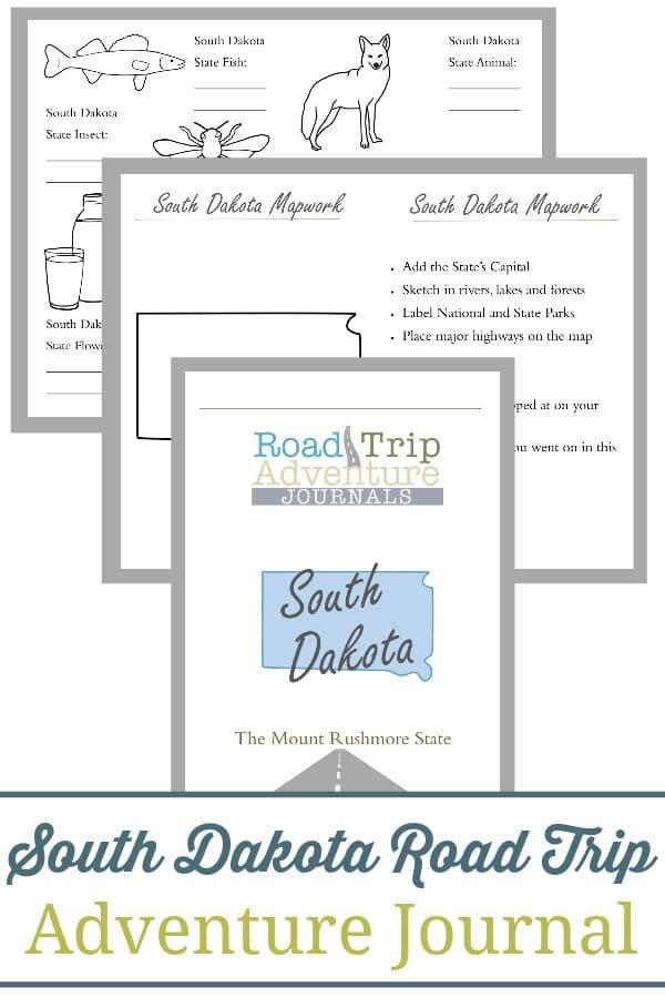 south dakota road trip, south dakota road trip journal, south dakota road trip adventure journal