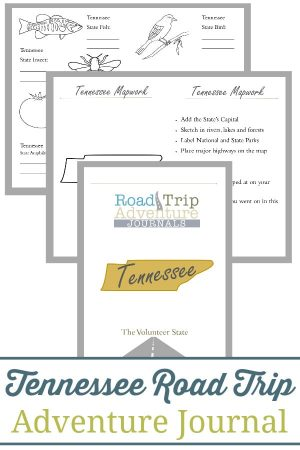 Tennessee Road Trip Adventure Journal