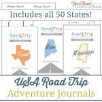 USA Road Trip Adventure Journal Bundle
