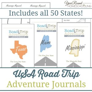USA Road Trip Adventure Journal Bundle