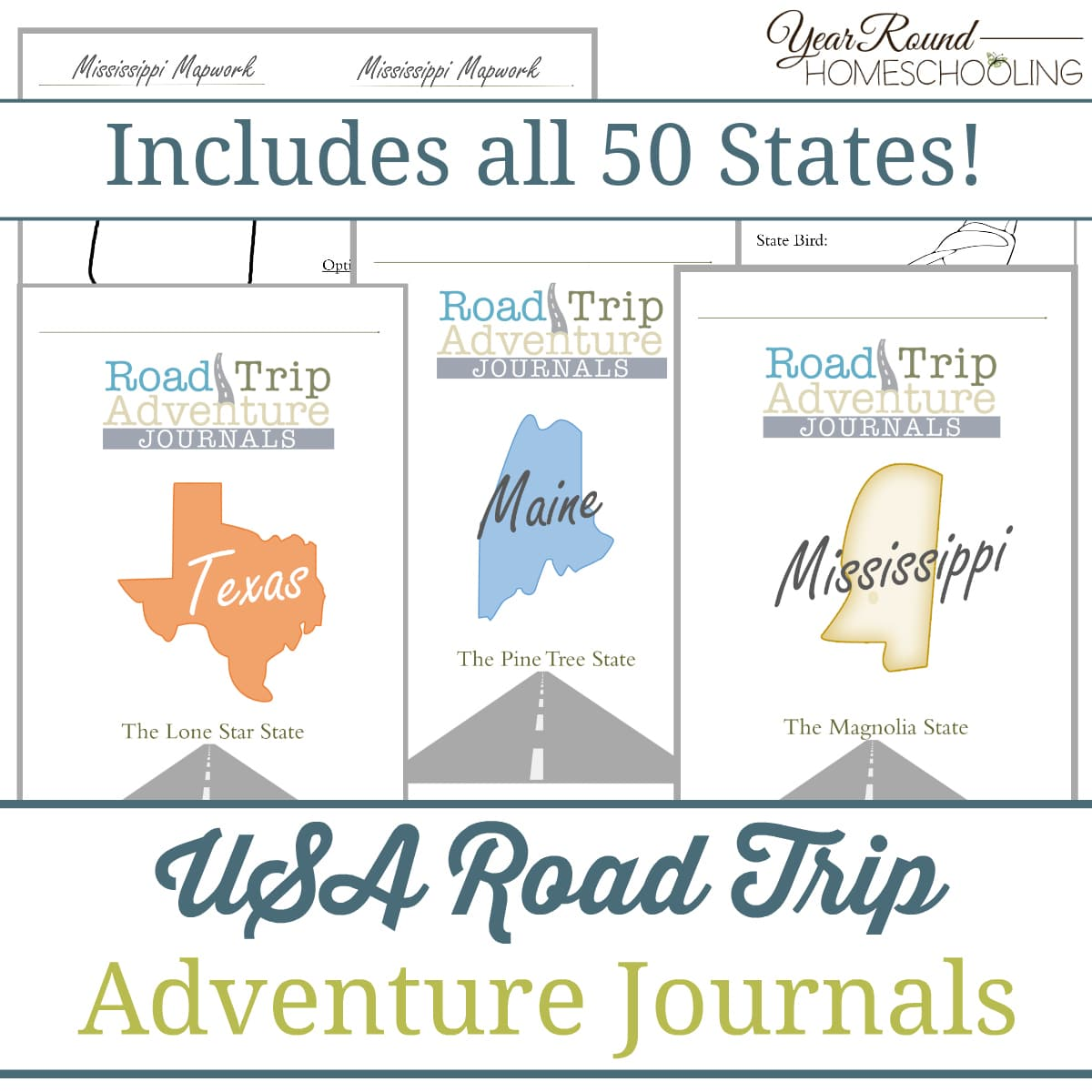 USA road trip, USA road trip journals, USA road trip journal
