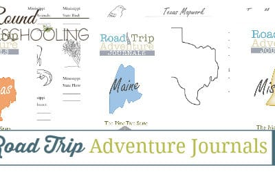 USA Road Trip Adventure Journals
