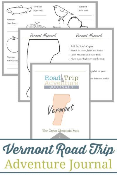 Vermont Road Trip Adventure Journal