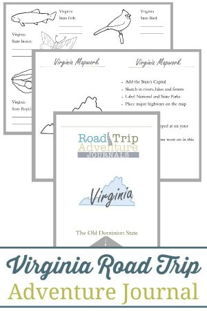 Virginia Road Trip Adventure Journal