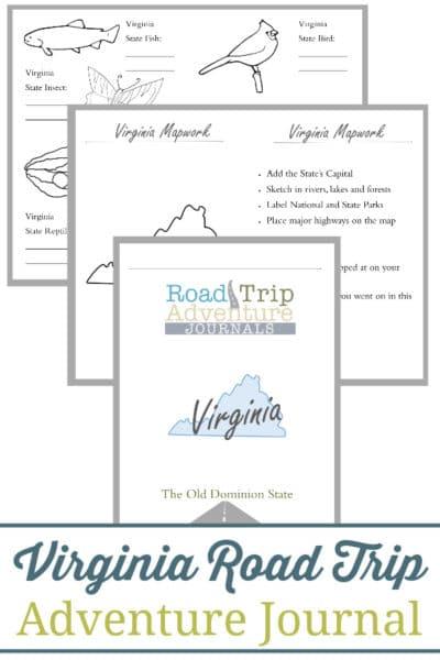 Virginia Road Trip Adventure Journal
