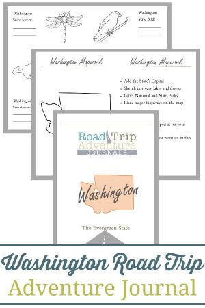 Washington Road Trip Adventure Journal