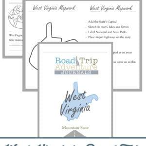 west virginia road trip, west virginia road trip journal, west virginia road trip adventure journal