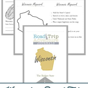 wisconsin road trip, wisconsin road trip journal, wisconsin road trip adventure journal