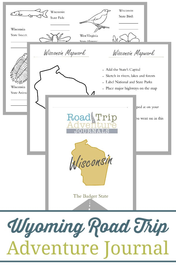 wisconsin road trip, wisconsin road trip journal, wisconsin road trip adventure journal