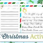 12 Days of Christmas Activity Book