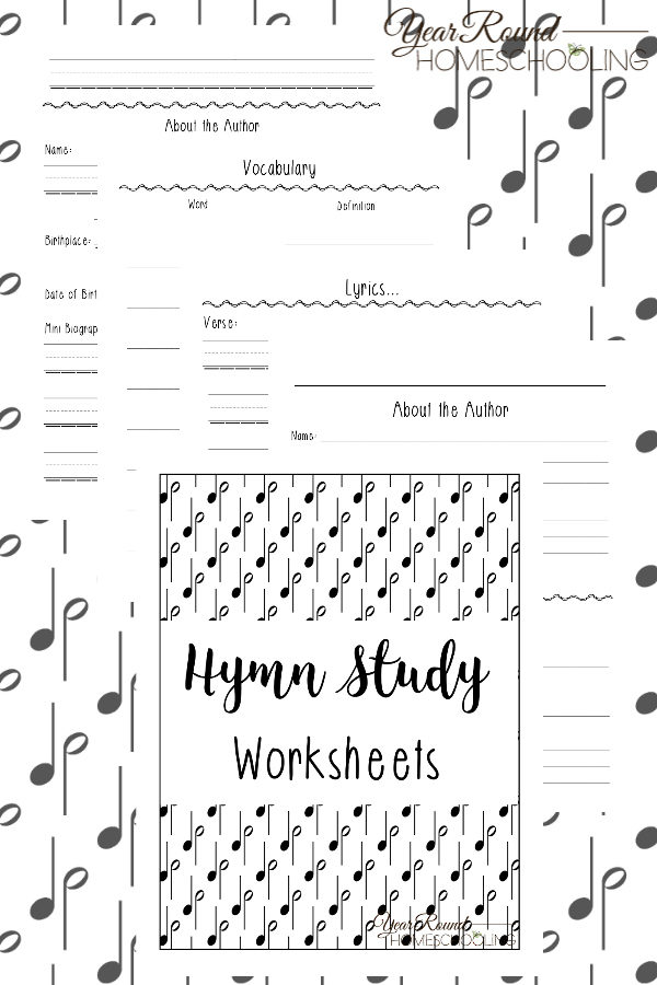 graphic regarding Printable Hymns titled Hymn Analyze Worksheets