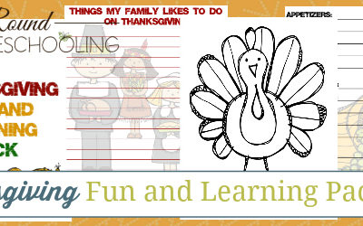 FREE Thanksgiving Fun Learning Pack