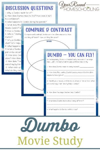 Dumbo Movie Study