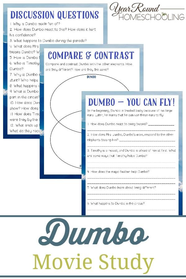 dumbo movie study, dumbo study, dumbo movie, dumbo