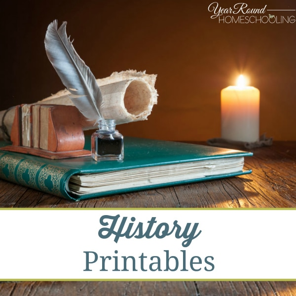 History Printables